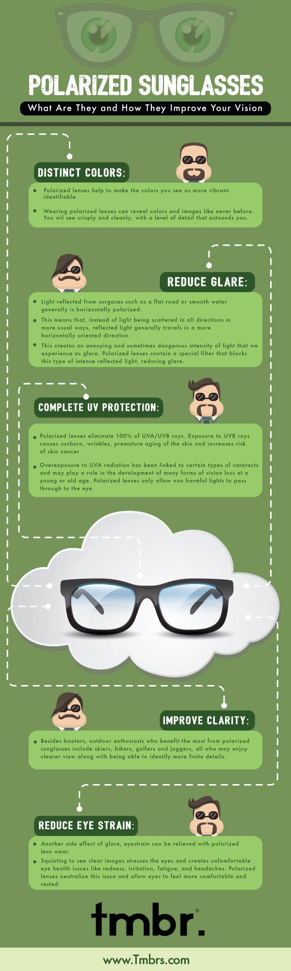 Polarized Sunglasses Infographic