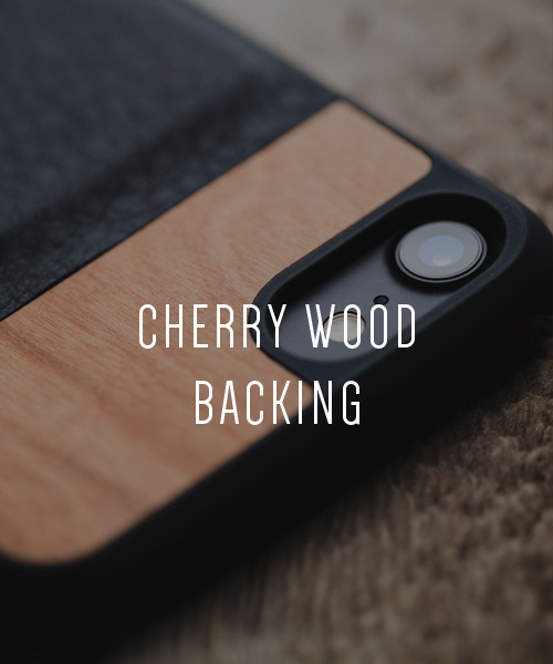 Tmbr. Scout Leather Wood Wallet iPhone 7 Card Case