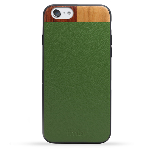 Leather Wood iPhone 7 Cases
