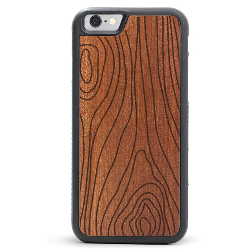 Engraved Wood iPhone 6/6s Cases