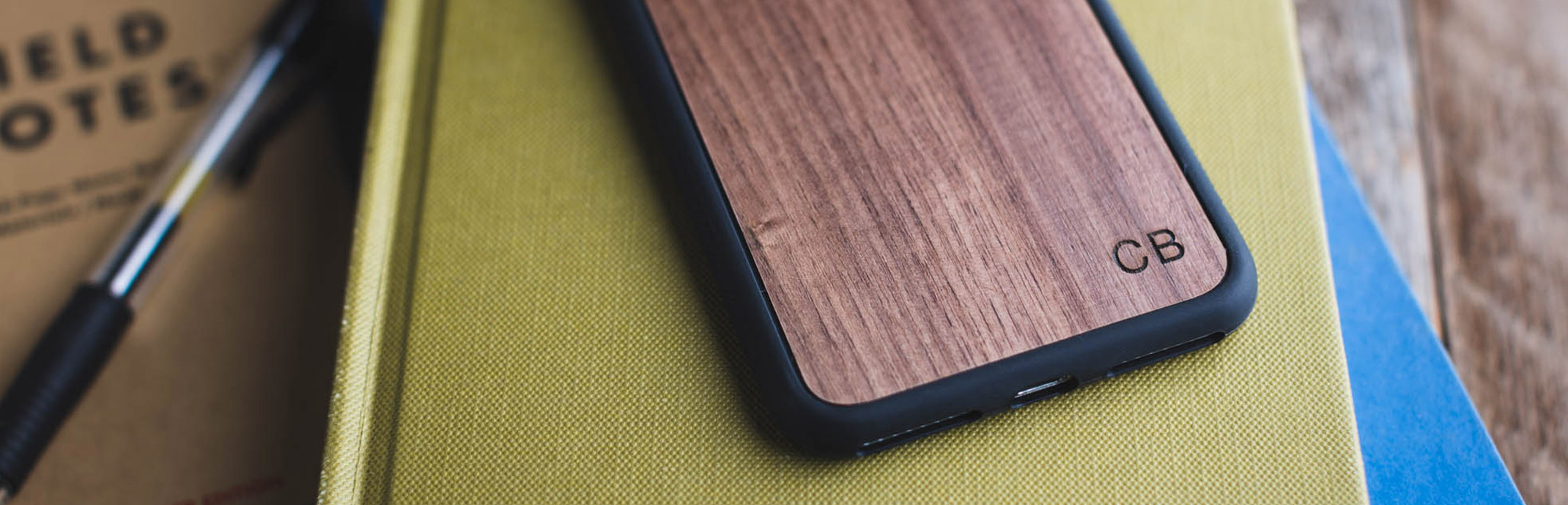 Monogram Wood iPhone 6/7 Engraved Cases