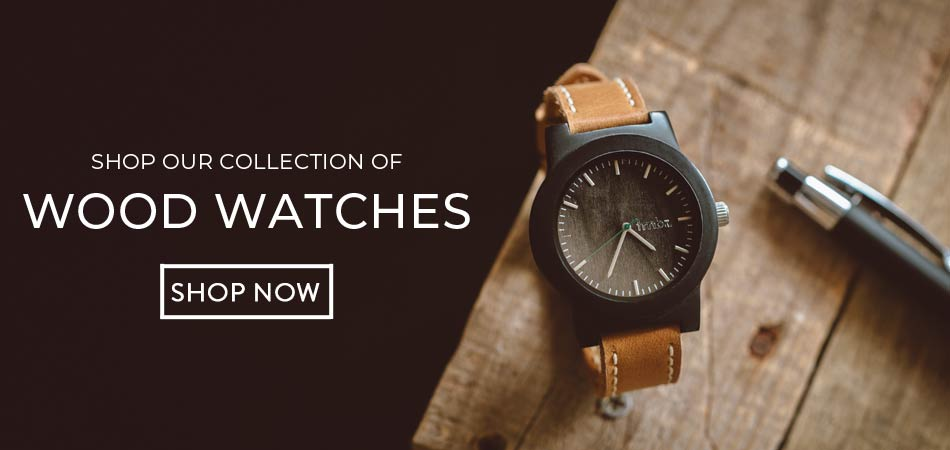 Shop Our Collection of Engraved Wood Watches