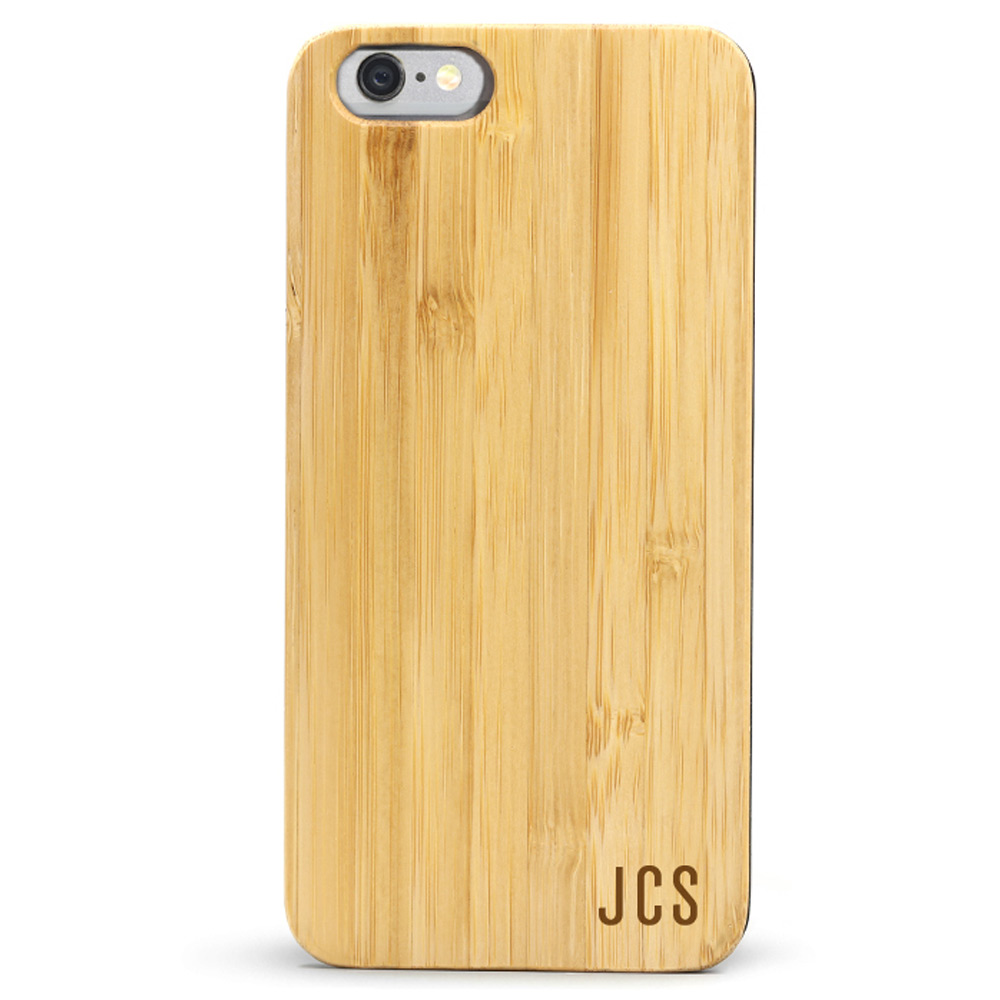 Slim Wood iPhone 6s Case - Monogram