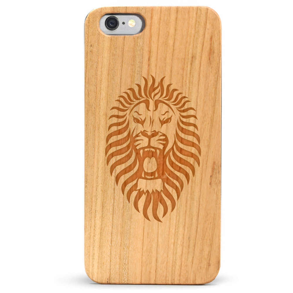 Slim Wood iPhone 6s Case - Lion