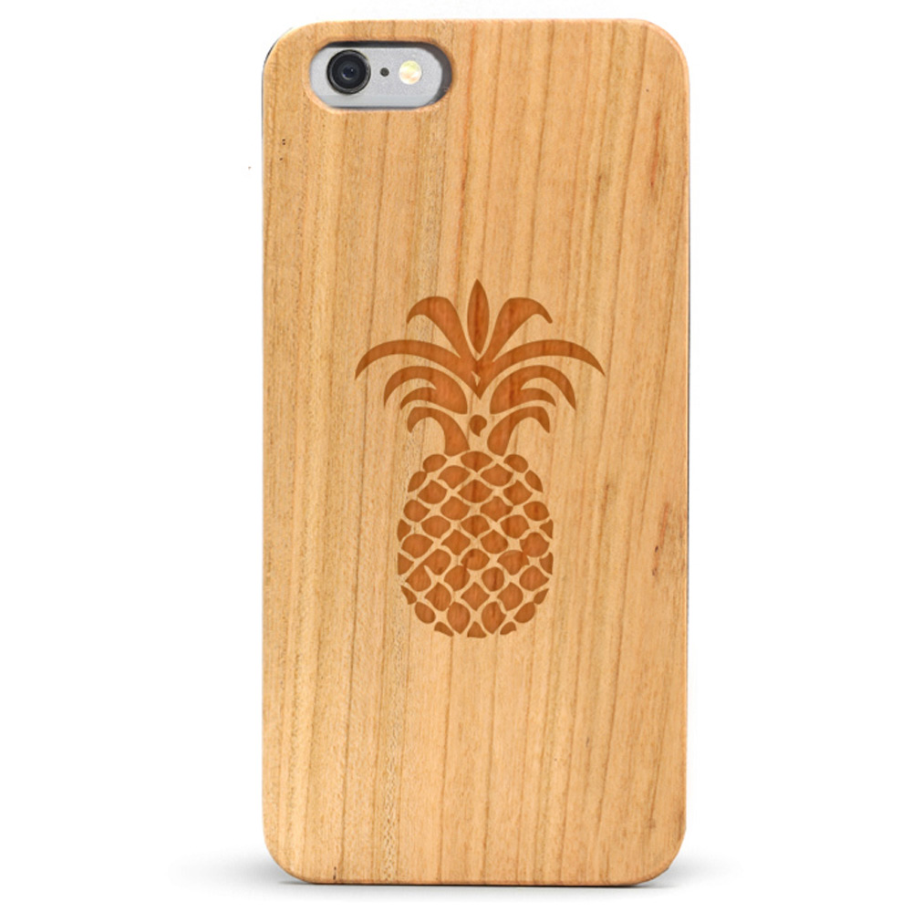 Slim Wood iPhone 6s Case - Pineapple