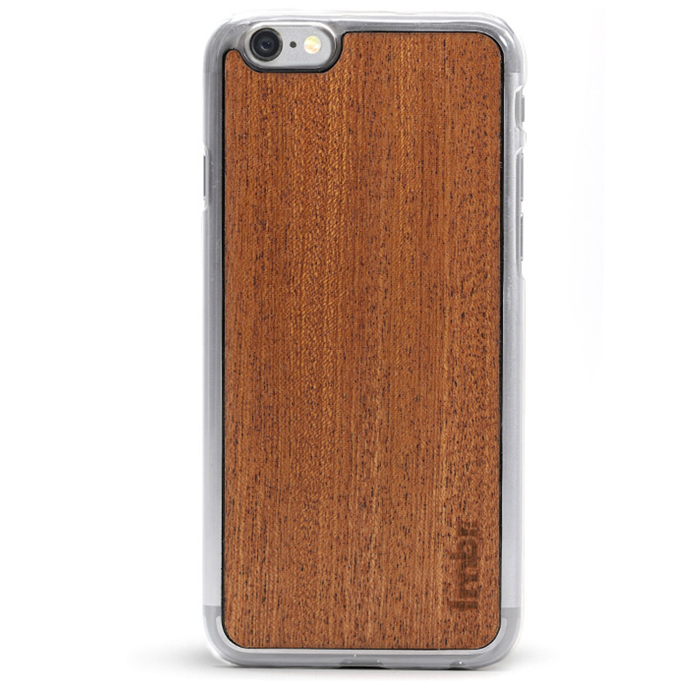 iPhone 6/6s Wood Case Clear