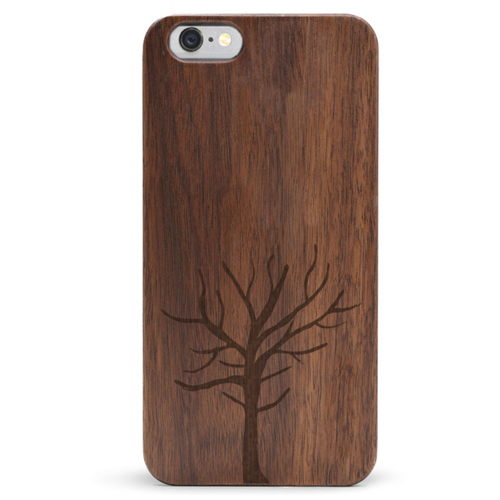 Slim Wood iPhone 6s Case - Tree