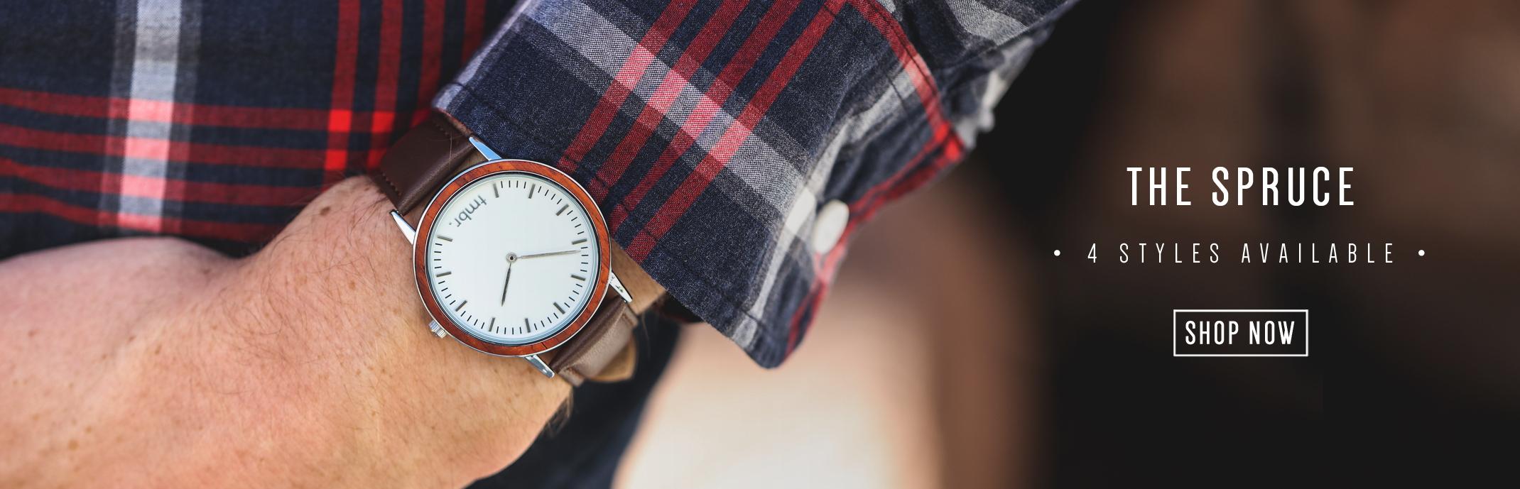 Tmbr Spruce Wood Watch