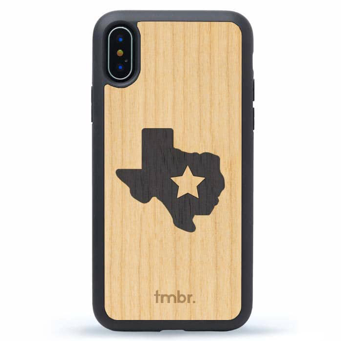 Texas Phone Case Wood