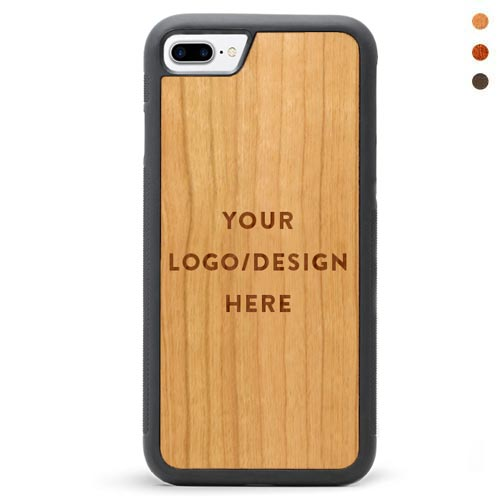 Engraved Wood iPhone 7 Plus Case Custom Case