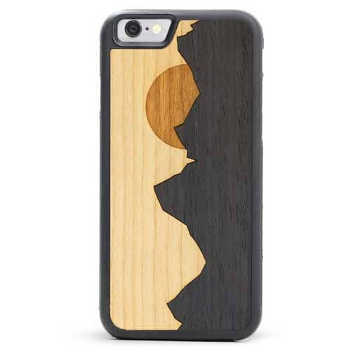 Grand Teton Wooden Inlay Phone Case