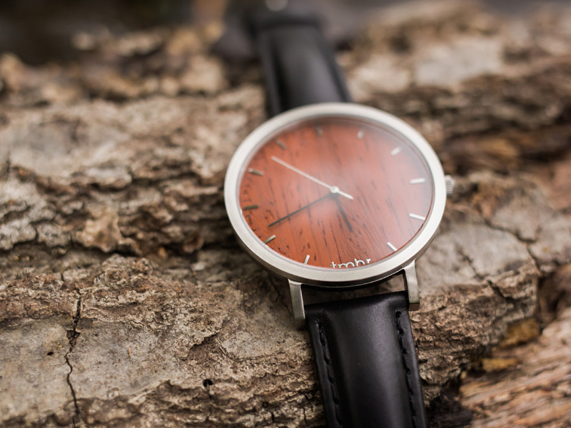 Tmbr. Men's Wooden Watches