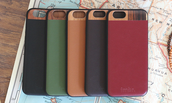 Leather Wood iPhone 6/6s Cases