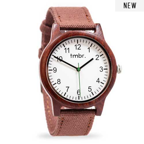 handcrafted wooden watches tmbr ridgeline rosewood 80 tmbr burly sandalwood custom engraved wood watch