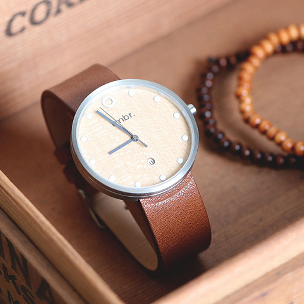 flow grain watches luxury minimalist woodgrain gadget wood portfolio