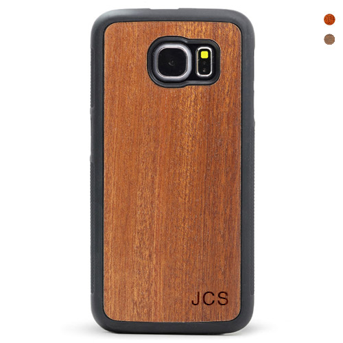Monogram Wood Galaxy S6/S7 Cases