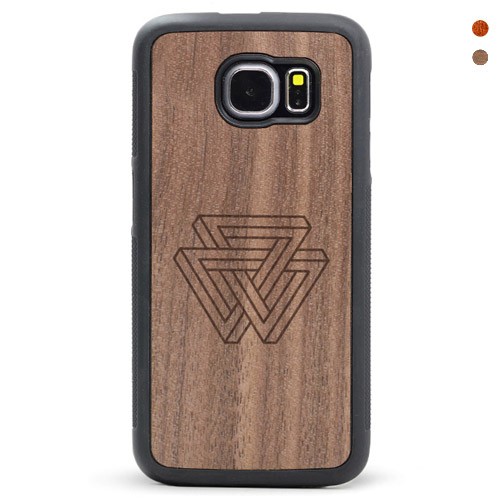 Wood Galaxy S6/s7 Case Penrose