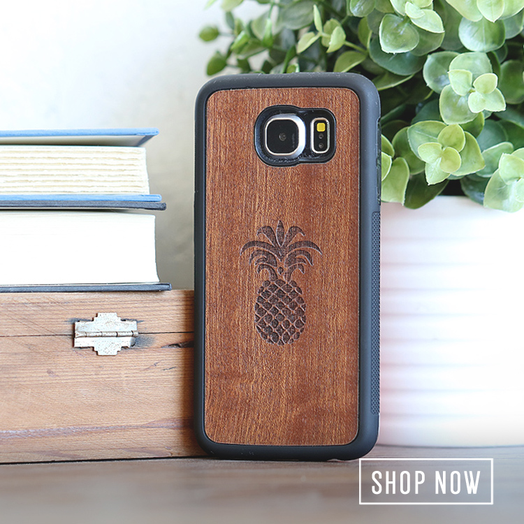 Wood Galaxy S6 Edge Wooden Cases