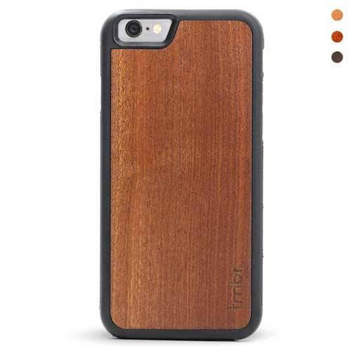 Shockproof Case Wood Backing