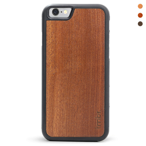 iPhone 7 Leather Wallet Case Wood