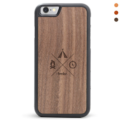 iPhone 6/6s Wood Case Campsite