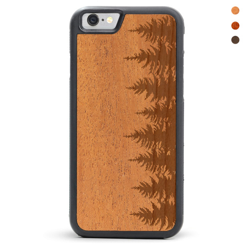 Wood iPhone Forrest Case