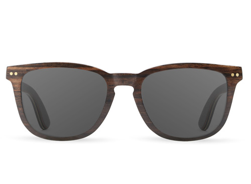Alpine Ebony Wood Sunglasses