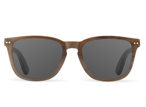 Alpine Walnut Wood Sunglasses