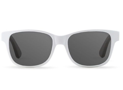 Bamboo White Sunglasses