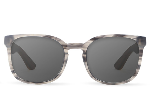 Stem Smoke Wood Sunglasses