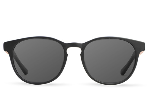 Valley Black Wood Sunglasses