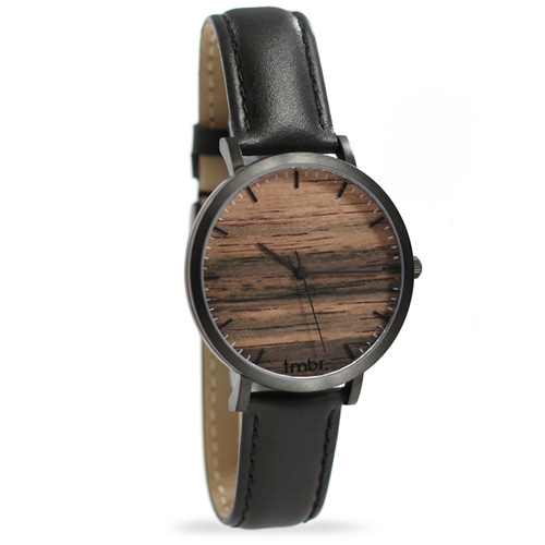 Tmbr Helm Minimalist Wooden Personalized Watch Sandalwood