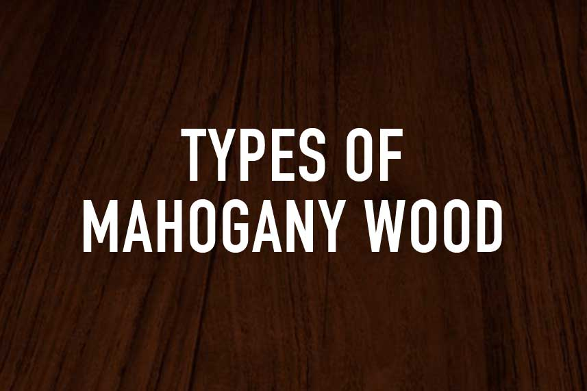 Types of Mahogany Wood
