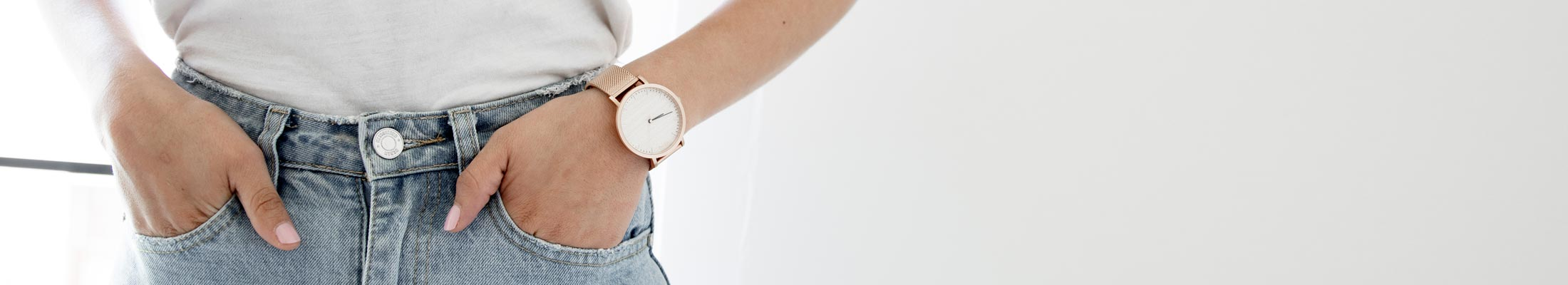 Minimalist Wood Women's Watch