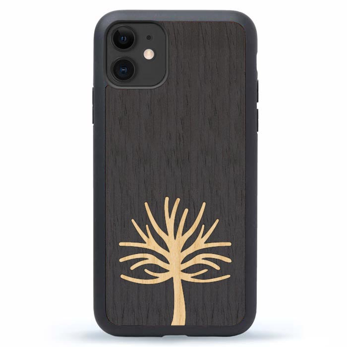 iPhone 11 Case Tree Case Wood