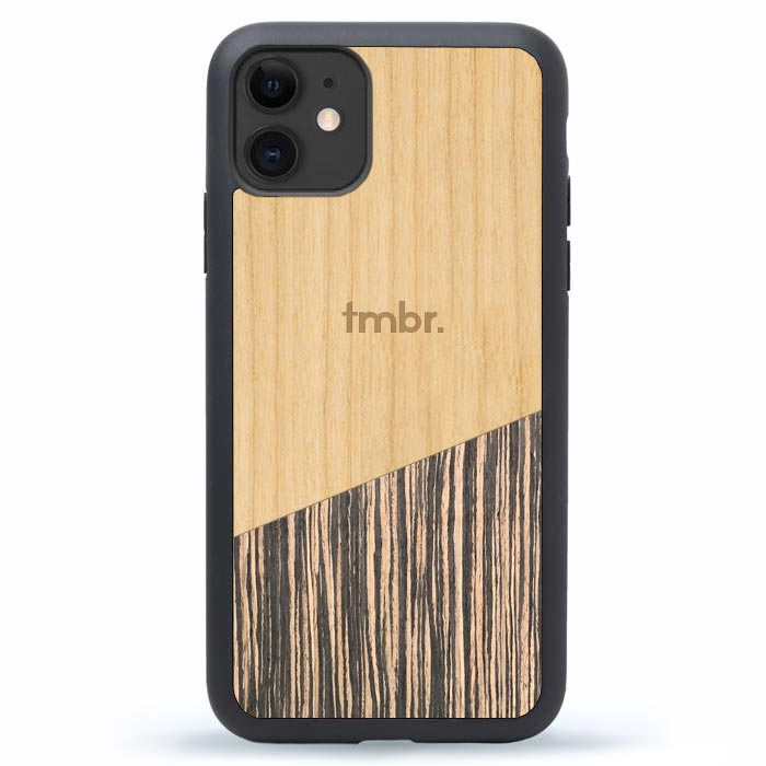iPhone 11 Case Wood