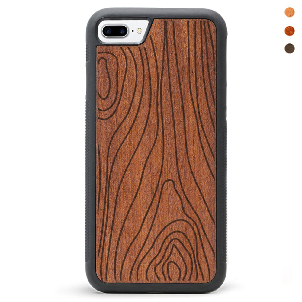 Wood iPhone 7 Phone Case Grain