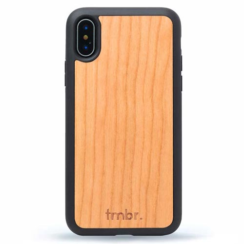 iPhone X Wood Shockproof