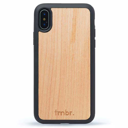 Maple Wood iPhone XS Case