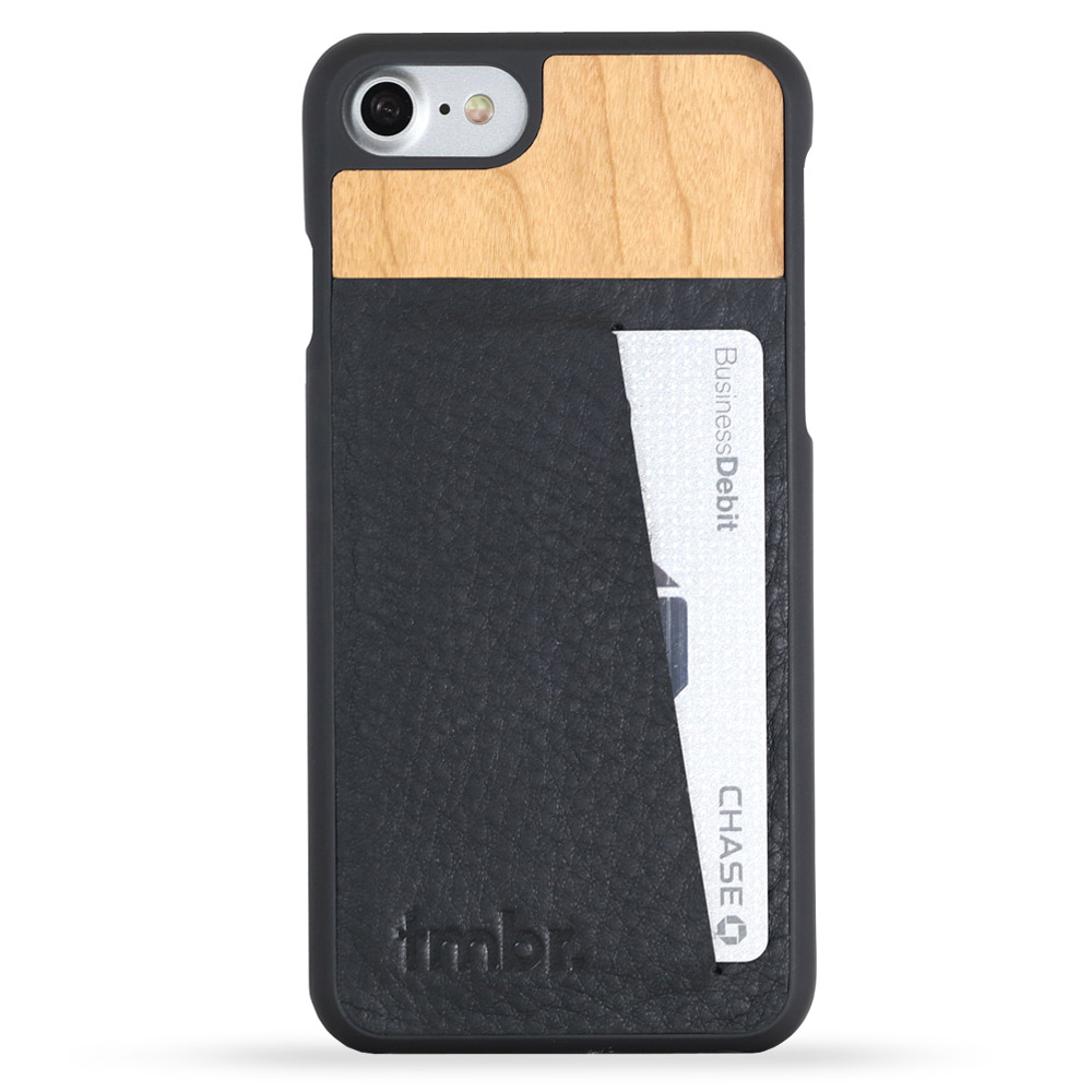 Tmbr. Scout Leather Wood Wallet iPhone 6s Card Case