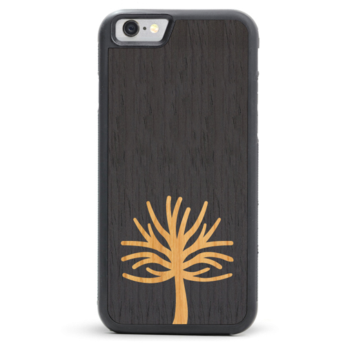 Tree Inlay Wood Case