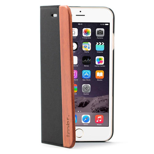 iPhone 7 Plus Folio Wallet Case Rosewood