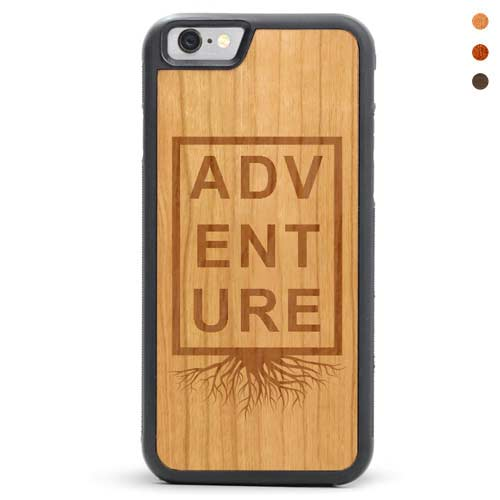 iPhone 6/6s Wood Case Adventure
