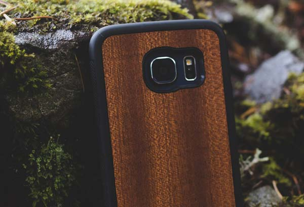 Wood Galaxy S6 and S7 Phone Cases