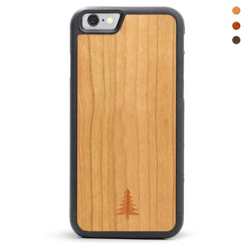 iPhone 6/6s Wood Case Arbolito