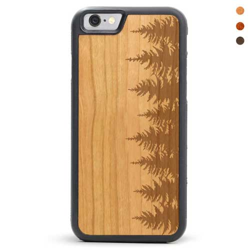 iPhone 6/6s Wooden Case Forest