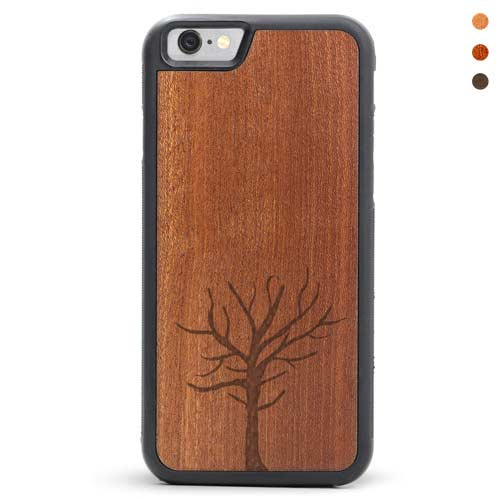 iPhone 6/6s Wood Case Tree