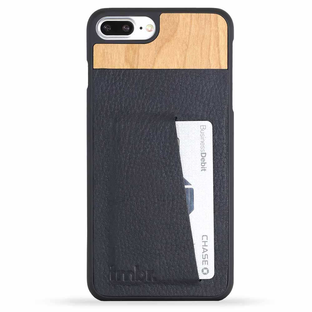 Engraved Wood iPhone 7 Plus Case Scout Black