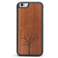 Engraved Rosewood iPhone 6 Tree Case