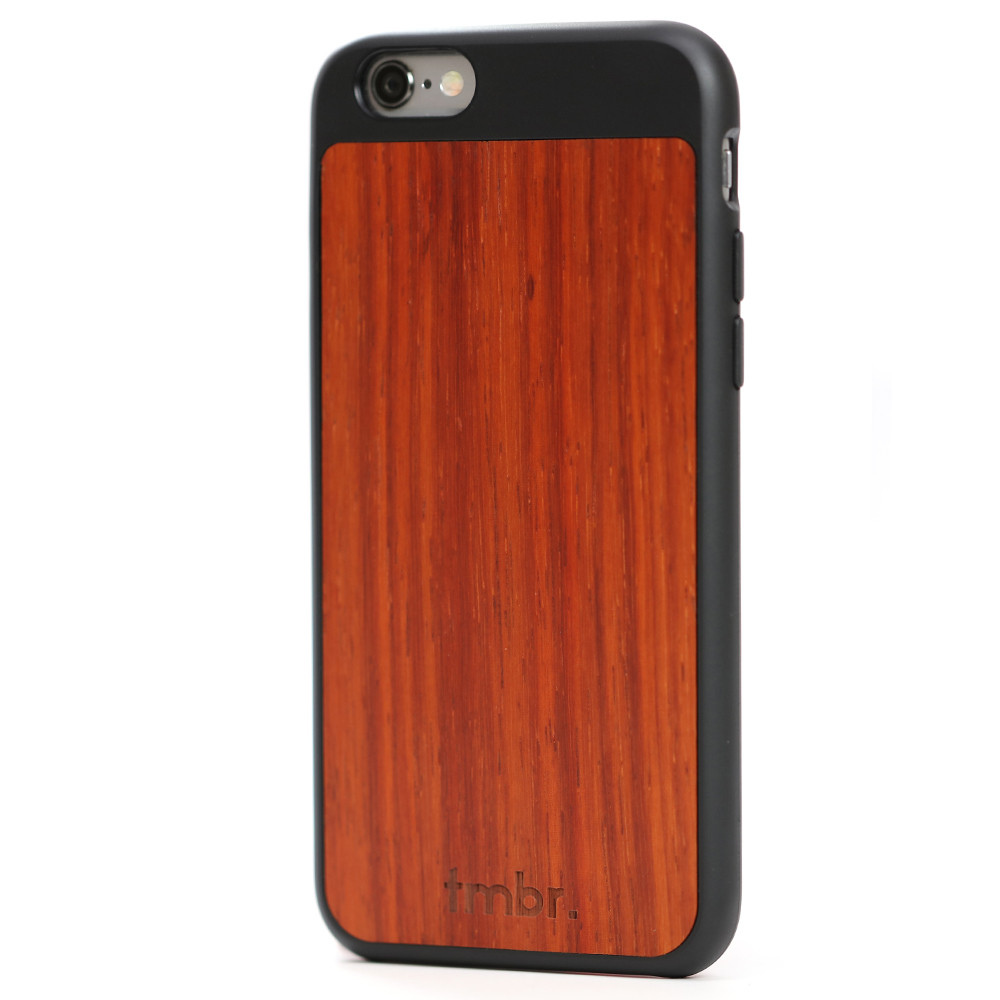 iPhone 6/6s Wood Case Black
